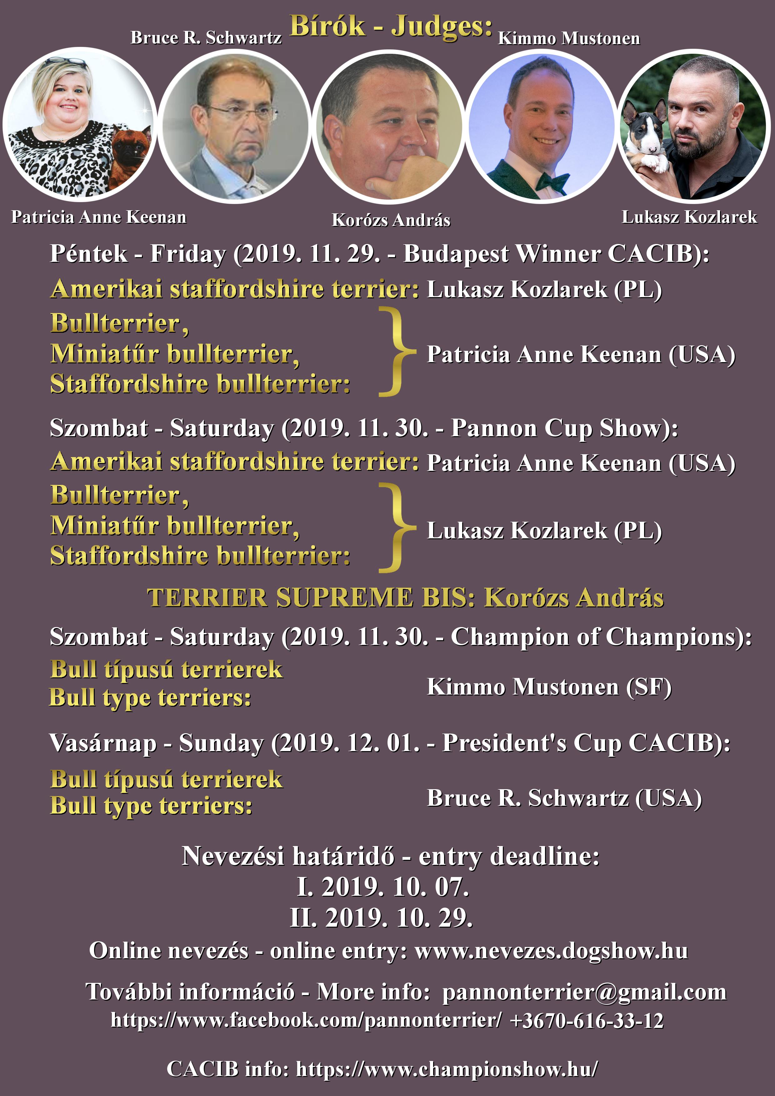 Pannon Cup 2019 !